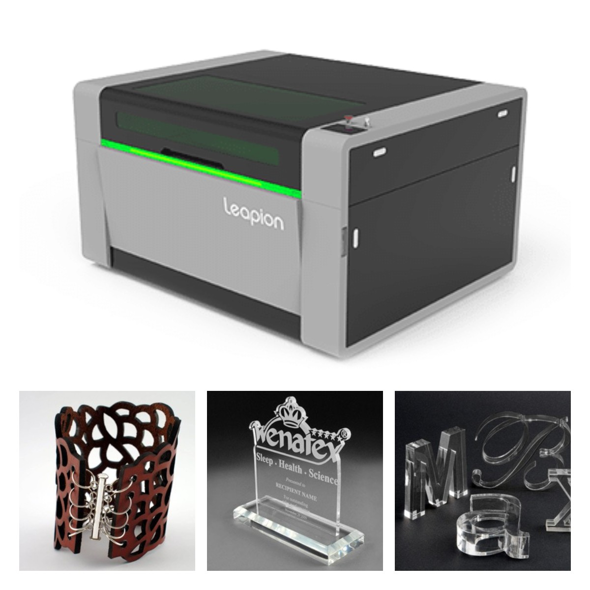 LC laser cutting & engraving machine