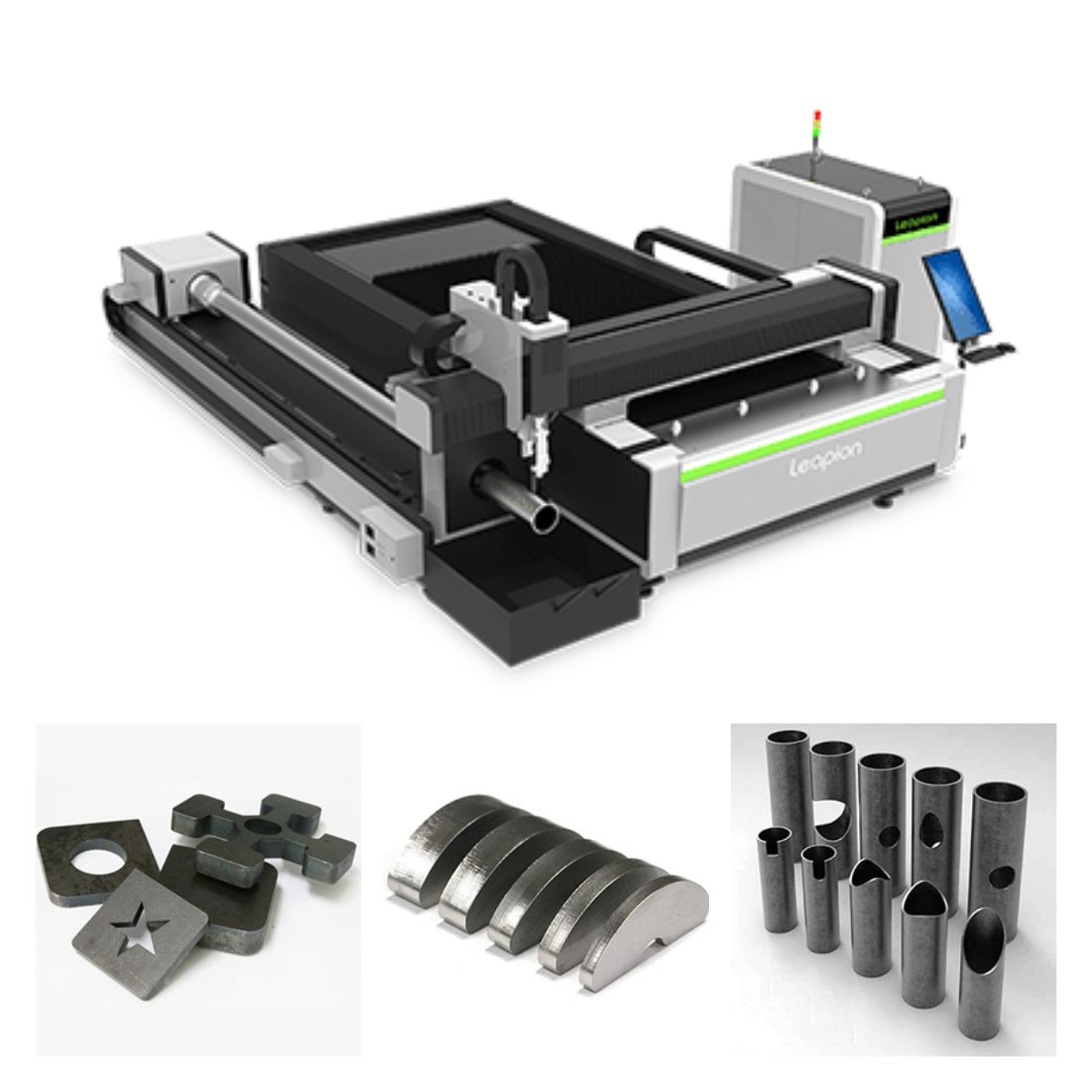 LF-ST Dual-use Sheet & Tube Fiber Laser Cutting Machine